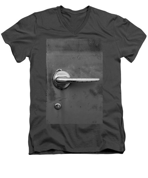 Delicate Balance Men's V-Neck T-Shirt