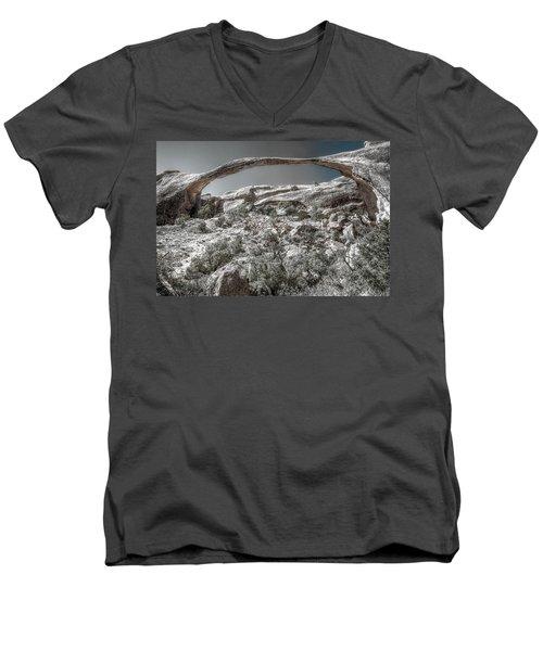 Delicate Stone Men's V-Neck T-Shirt