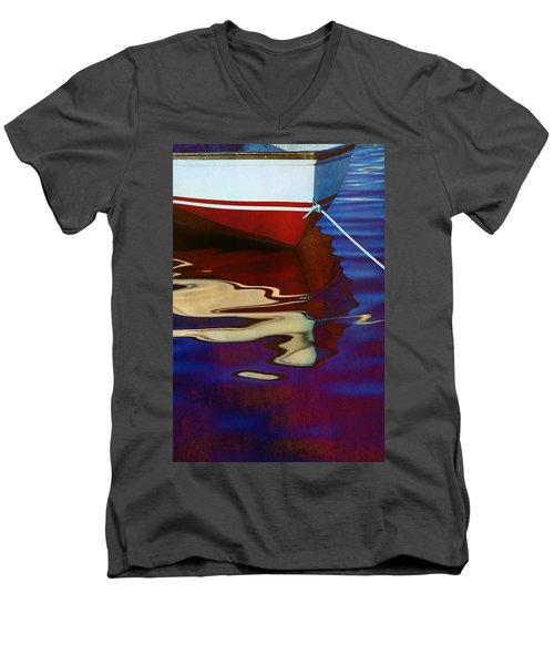 Delphin 2 Men's V-Neck T-Shirt