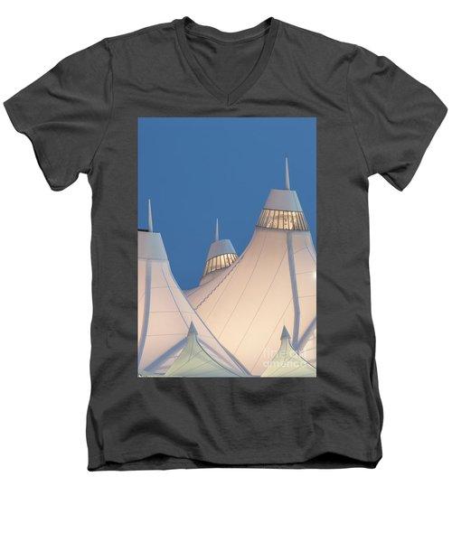 Denver International Airport Men's V-Neck T-Shirt