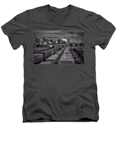 Denver's Underbelly Men's V-Neck T-Shirt