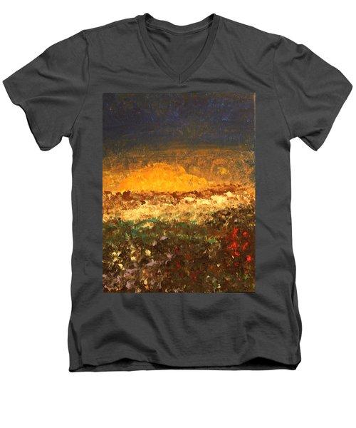 Desert Bloom Men's V-Neck T-Shirt