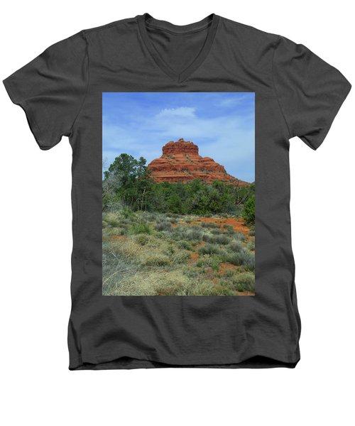 Desert Castle Men's V-Neck T-Shirt