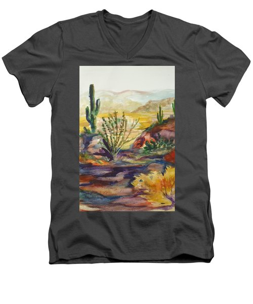 Desert Color Men's V-Neck T-Shirt
