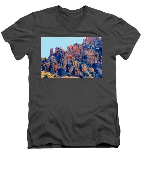 Desert Paint Men's V-Neck T-Shirt