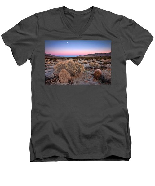Desert Twilight Men's V-Neck T-Shirt