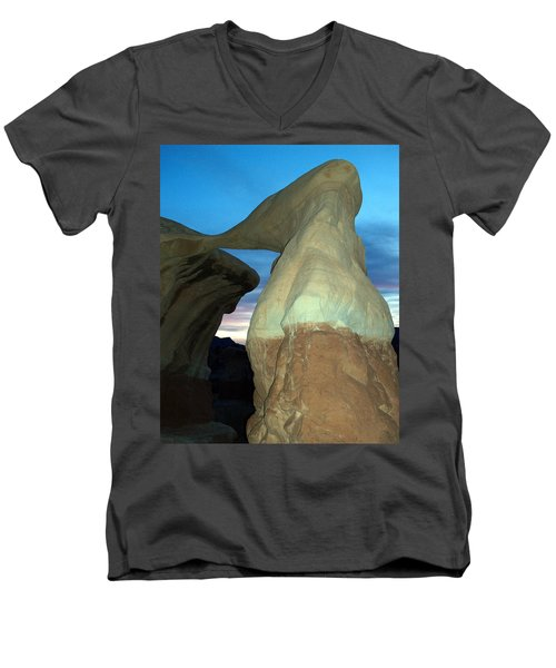 Devil's Garden Metate Arch 008 Men's V-Neck T-Shirt