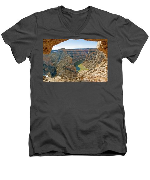 Devils Overlook Men's V-Neck T-Shirt