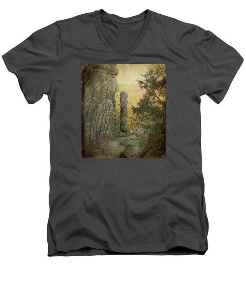 Devil's Smokestack Men's V-Neck T-Shirt