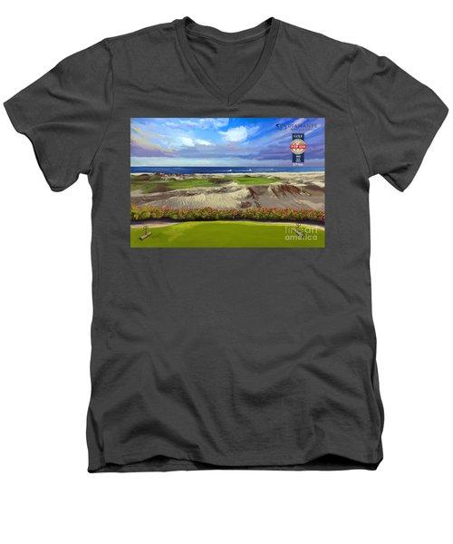 Diamante Dunes Cabo 16th Men's V-Neck T-Shirt