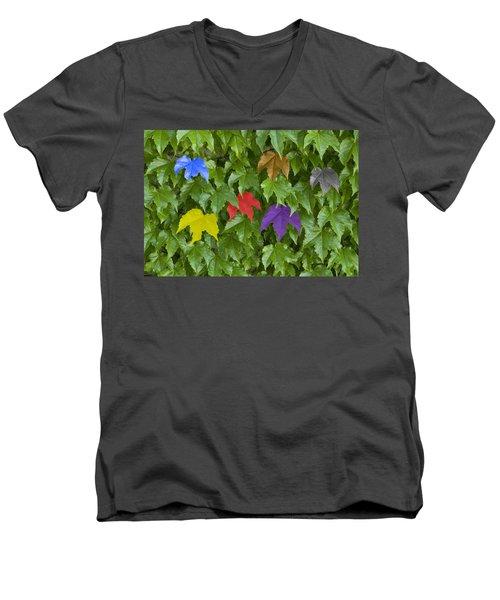Different Yet The Same Men's V-Neck T-Shirt