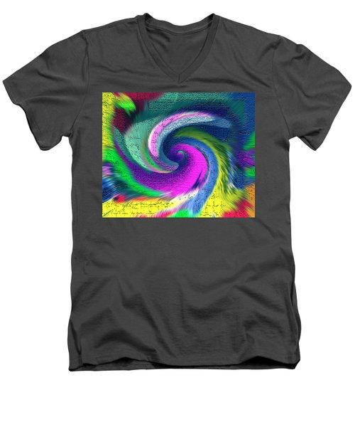 Dimensional Doorway Men's V-Neck T-Shirt