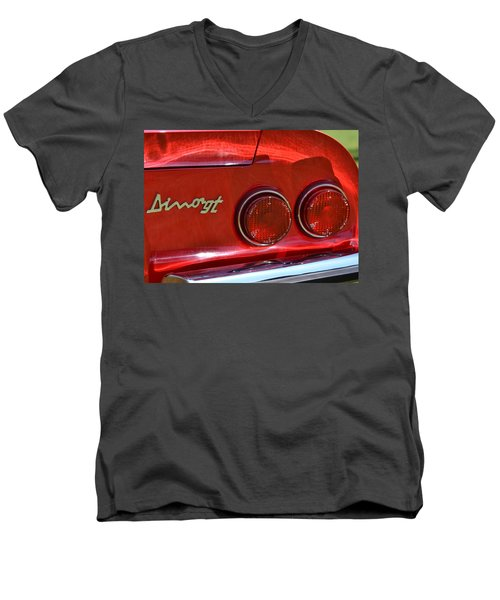 Men's V-Neck T-Shirt featuring the photograph Dino Gt by Dean Ferreira
