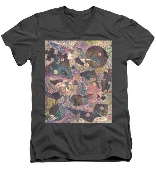 Distraction A Self Portrait Men's V-Neck T-Shirt
