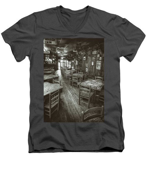 Dixie Chicken Interior Men's V-Neck T-Shirt