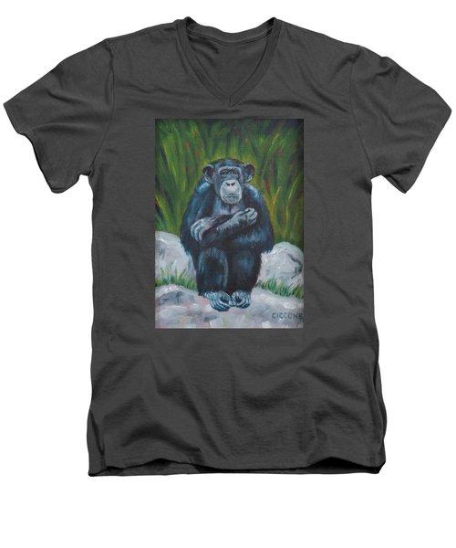 Do No Evil Men's V-Neck T-Shirt