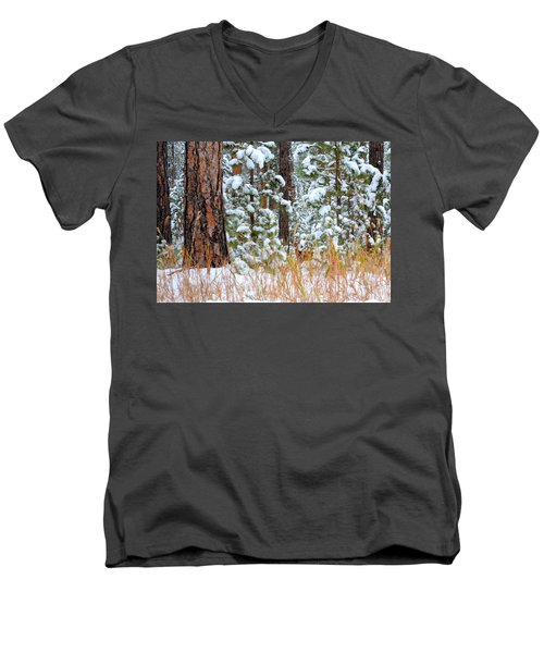 Do You See Me Men's V-Neck T-Shirt by Clarice  Lakota