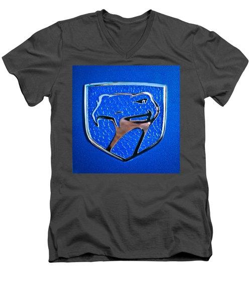 Dodge Viper Emblem -217c Men's V-Neck T-Shirt