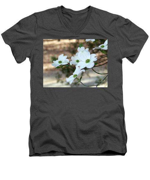Dogwood 2 Men's V-Neck T-Shirt