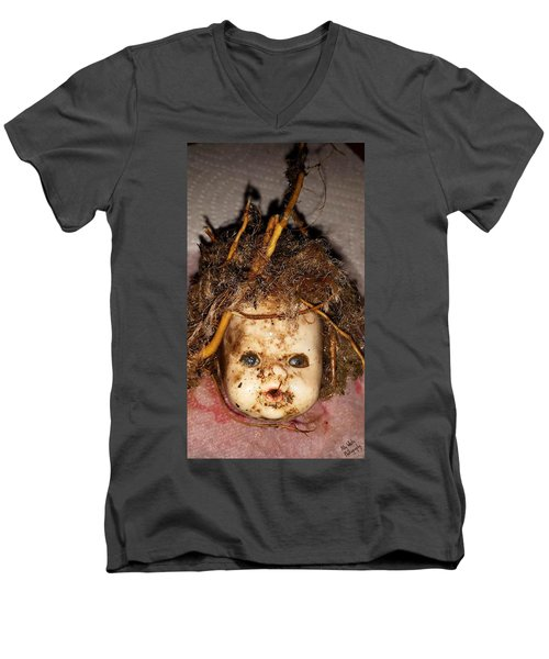 Doll Head Men's V-Neck T-Shirt