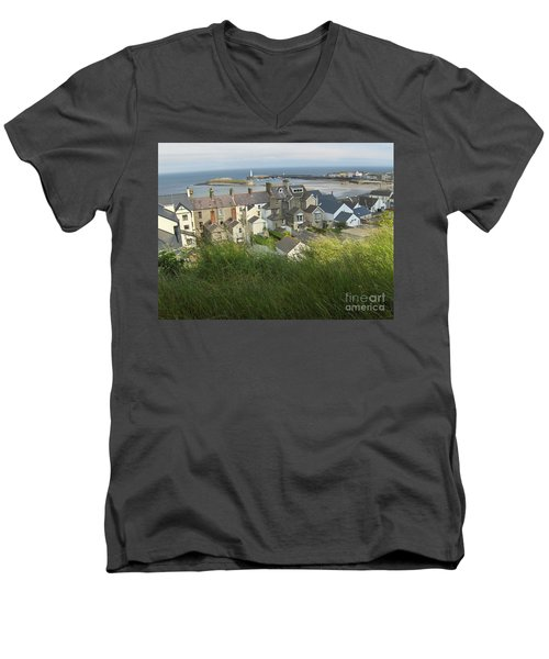 Donaghadee Northern Ireland View From The Moat Men's V-Neck T-Shirt