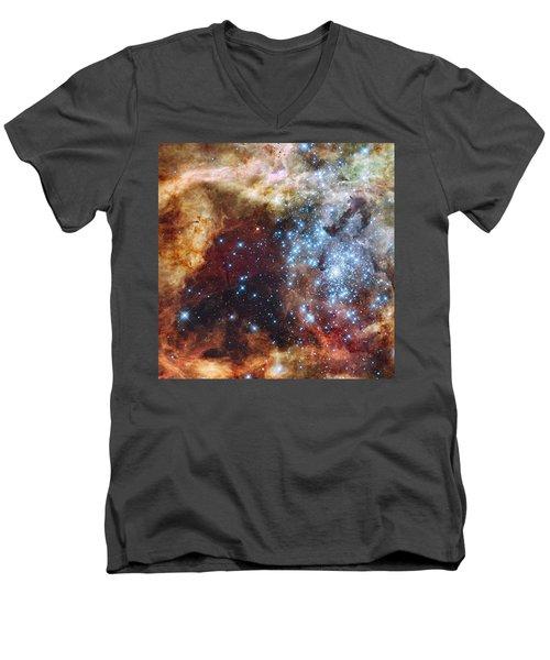 Doradus Nebula Men's V-Neck T-Shirt
