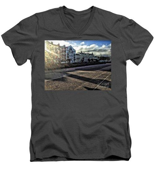 Douglas Sunset Men's V-Neck T-Shirt
