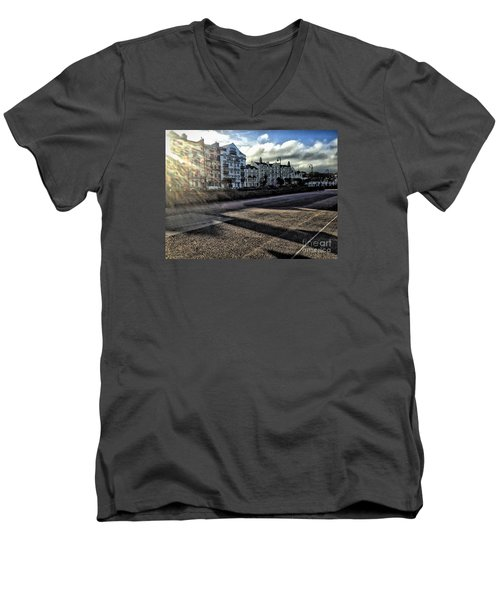 Douglas Sunset Men's V-Neck T-Shirt