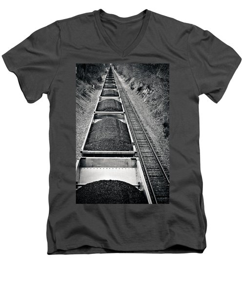 Down The Line Men's V-Neck T-Shirt