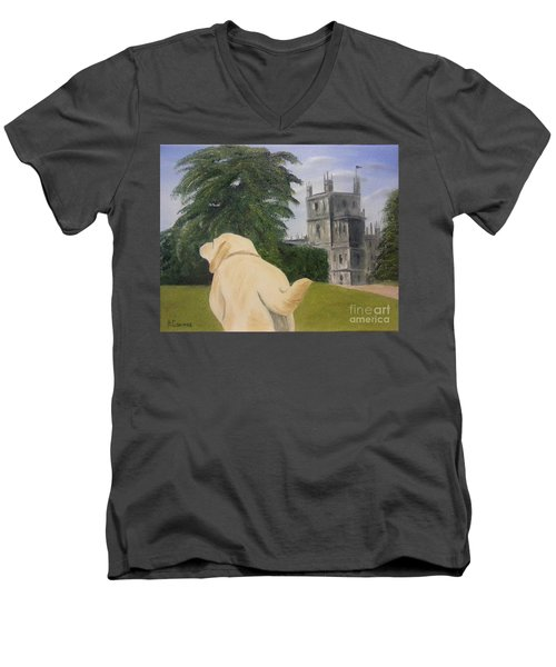 Downton Abbey Men's V-Neck T-Shirt