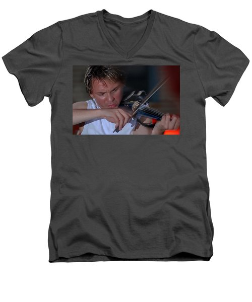 Dr. Draw Men's V-Neck T-Shirt