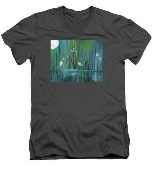 Dragonfly Diner Men's V-Neck T-Shirt