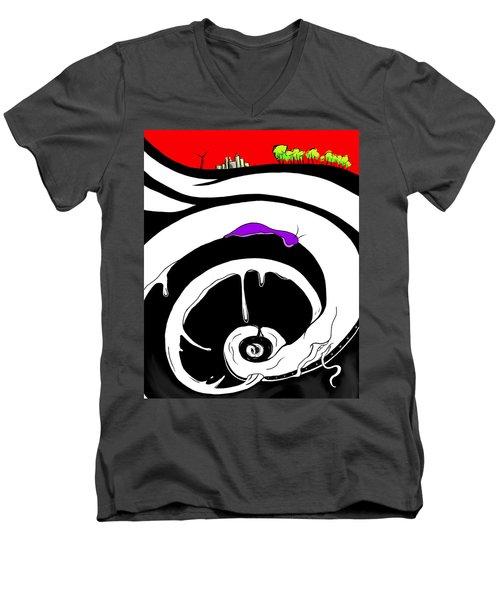 Drained Men's V-Neck T-Shirt