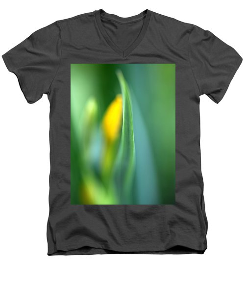 Men's V-Neck T-Shirt featuring the photograph Dream by Annie Snel