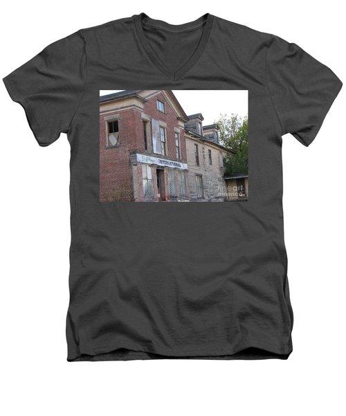 Men's V-Neck T-Shirt featuring the photograph Dream House by Michael Krek