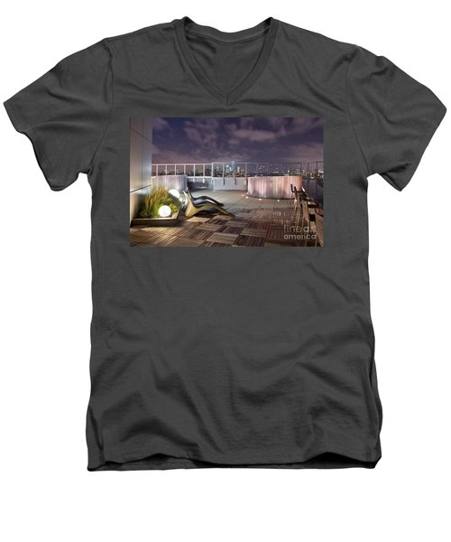 Dream On Until Tomorrow Men's V-Neck T-Shirt