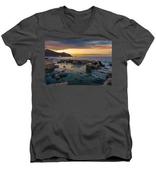 Dreaming Sunset Men's V-Neck T-Shirt