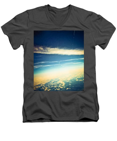 Men's V-Neck T-Shirt featuring the photograph Dreamland by Sara Frank