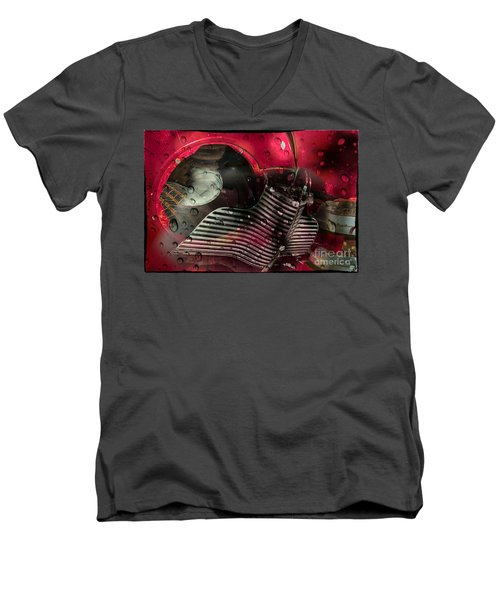 Dreams Of Past Glory Men's V-Neck T-Shirt