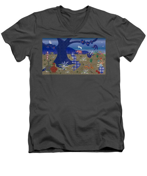 Dreamscape - Limited Edition  Of 30 Men's V-Neck T-Shirt
