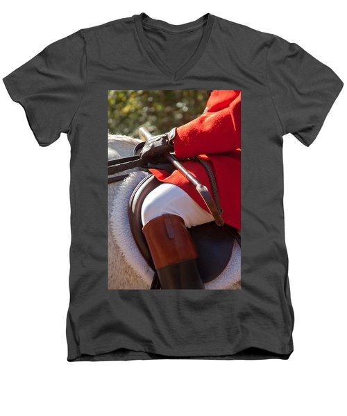 Dressed Rider Men's V-Neck T-Shirt