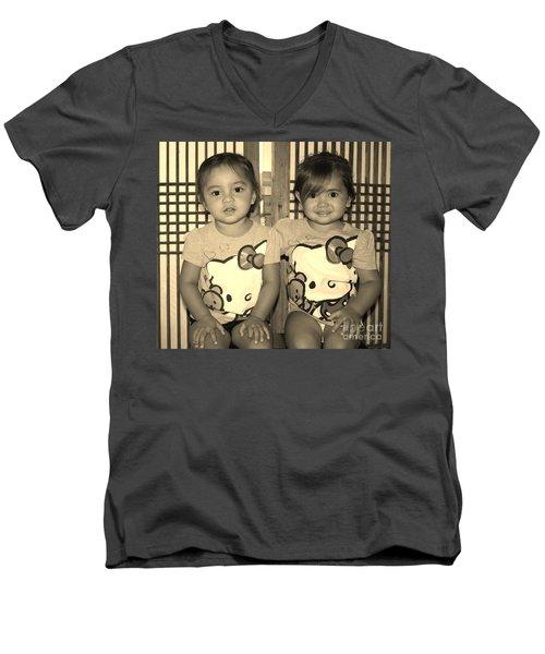 Dressed To Impress Men's V-Neck T-Shirt by Craig Wood