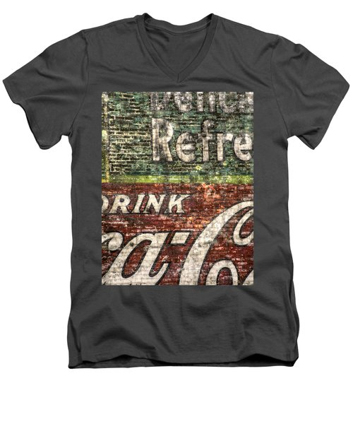 Drink Coca-cola 1 Men's V-Neck T-Shirt