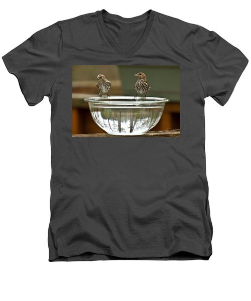 Drink Up Men's V-Neck T-Shirt