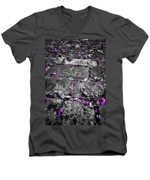 Drops Of Color Men's V-Neck T-Shirt