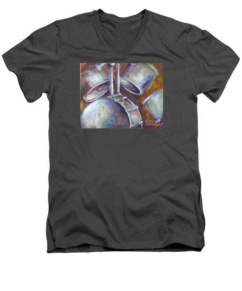 Drums Men's V-Neck T-Shirt