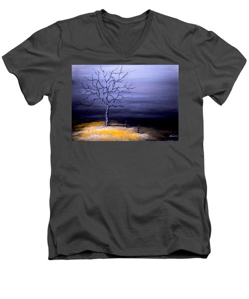 Dry Winter Men's V-Neck T-Shirt