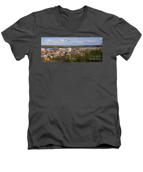 Dubuque Iowa Men's V-Neck T-Shirt