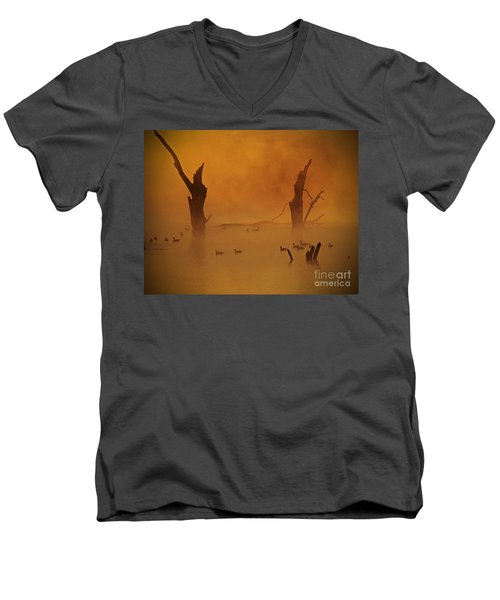 Duck Pond Men's V-Neck T-Shirt