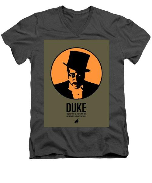 Dude Poster 3 Men's V-Neck T-Shirt